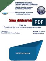 04 SyM Ver 1.1. Tema 03 Procedimientos en La Operaciones de Una Empresa