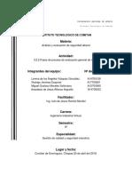 1.4 Fases de La Evaluación de Riesgos