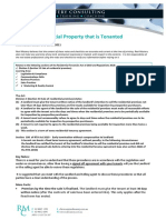 selling rented premises with flow chart info sheet 121212