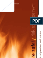 Fire Safety Risk Assessment 2007 Animal Premises Stables