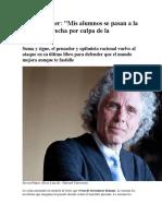 Steven Pinker en Defensa de La Ilustración RESEÑA