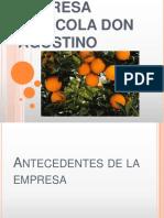 192351231 Empresa Agricola Don Agostino Pptx