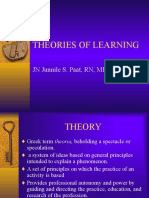 Unit 2 Theories of Learning