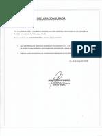Declaracion Jurada 16-05-18
