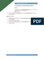 Sesion 7.2 - Ejercicios Acces