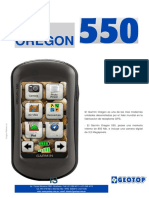 Brochure Gps Oregon 550