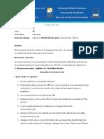 Prueba Corta 1 IIC2018