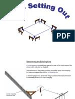 Basic Setting Out Process