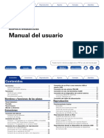 Owners Manual - Spanish_AVR-X3000