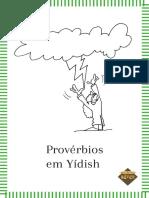 Proverbios Em Yidish Editora e Livraria Sefer