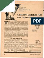 AMORC Ads in Popular Mechanics