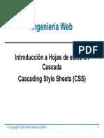 WE-04 Cascading Style Sheet