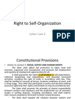 Right to Self Organization