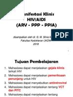 Manifestasi Klinis HIV