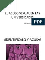 El acoso sexual en las Universidades - Catty_g1