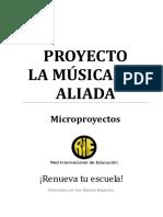 Proyecto La Música tu Aliada Rie