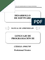 89001709 Lenguaje de Programacion III