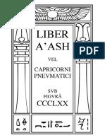 Liber A'ash vel Capricorni Pneumatici