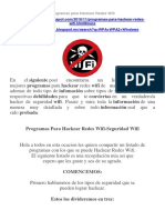 Programas Para Hackear Redes Wifi