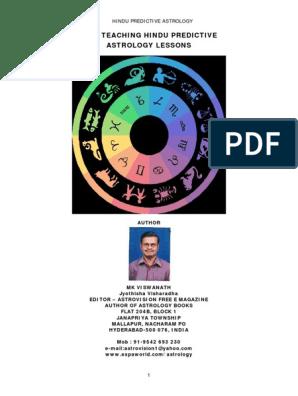 astrology lessons pdf