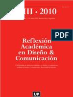 Reflexión Académcia en Diseño y Comunicación