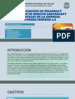 Identificación de Peligros y Evaluación de Riesgos Laborales