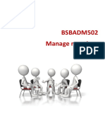 BSBADM502+Learner+Workbook+V1.5 manage meeting (1)