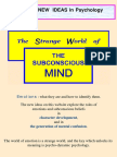 (eBook - Psychology) the World of Subconscious Mind