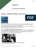 Harvey – Mortuos Plango, Vivos Voco | HISTORIA DE LA MÚSICA