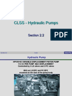 CLSS Hydraulic Pump Section 2.2