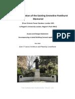 Emmeline Pankhurst Trust May 2018
