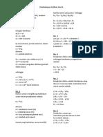 Pembahasan SOAL Listrik Dinamis Smp Kelas IX