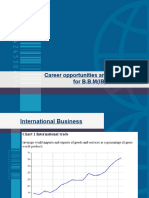 Career Opportunities and Employ Ability
