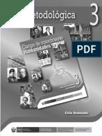 Campo de conocimiento, Humanidades. Guía para el docente 3, ciclo Avanzado.pdf
