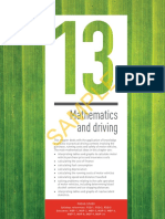 Oxford Insight Maths General Preliminary Ch13 Mathematics and Driving