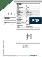 P&F Catalogue Proximity Sensor