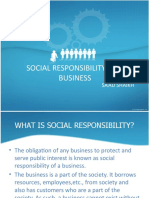 Social Responsibility of a Business