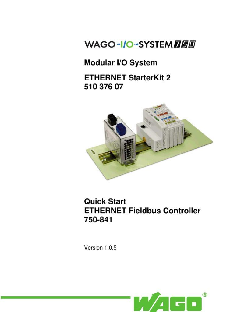 Man Wago Eth Starter Kit 2 | Input/Output | Electrostatic