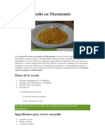 1Arroz Con Pollo en Thermomix