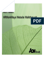 Hrworkways Walkthrough