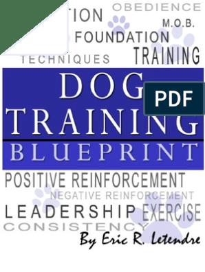 Dog Training Blueprint | Dog Training | Obedience Training