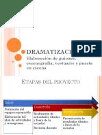 Elaboracion guiones dramatizaciones