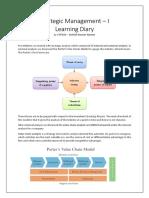 Starategy Learning Diary
