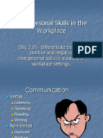2.01 Interpersonal Skills