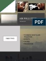 Group 1 - Air Pollution