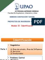 03 Modulo -2 Identificacion