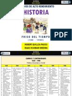 Friso de Tiempo 1850 - 1900   Robert Quillca Pacco