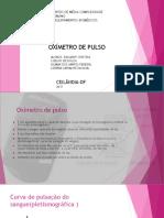 Oxímetro de Pulso Slide