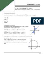 Ficha de Reforço_geometria Analitica _plano