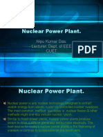 Nuclear Power Plant. EEE-481, CUET